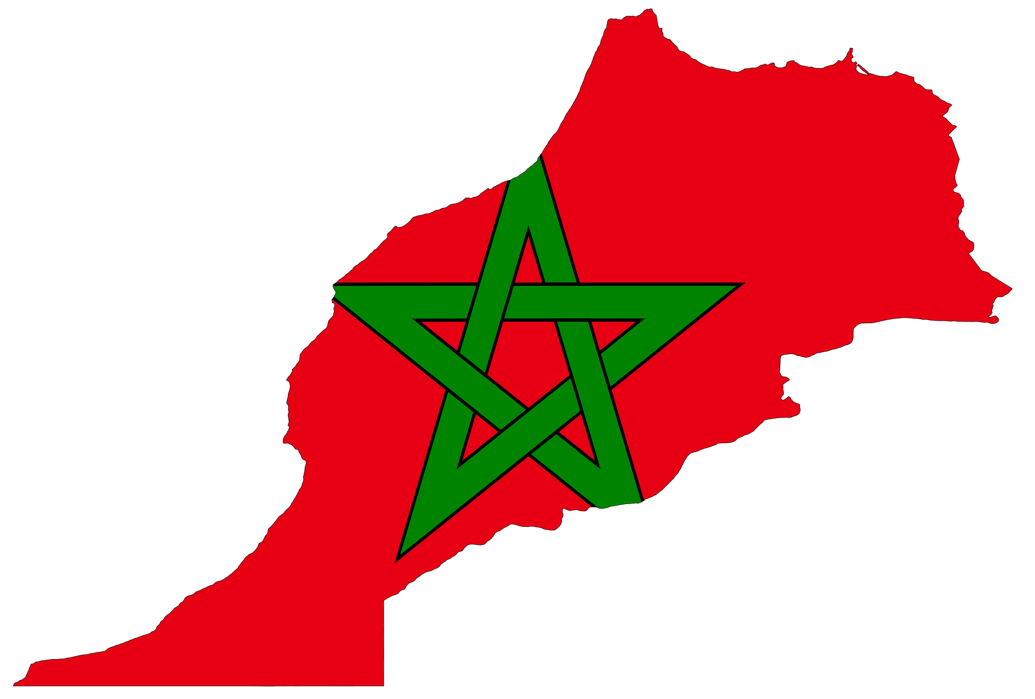 Map Of Morocco - Map of morocco
