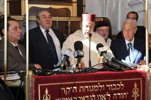Prime Minister Abdelilah Benkirane at reopening of Slat al Fassayine Synagogue in Fes